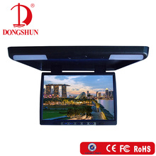 easy installation flip down car roof TV monitor