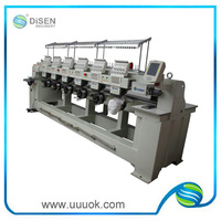 9 Needles 6 Head Quality-Assured embroidery label machine