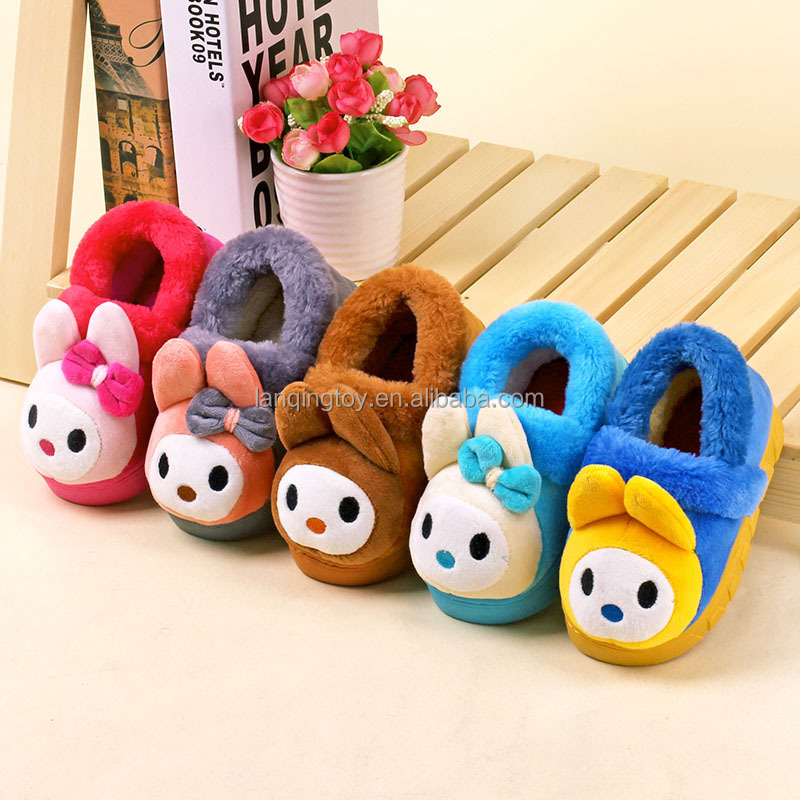 Winter Warm Plush Fluffy Indoor <strong>Slippers</strong>
