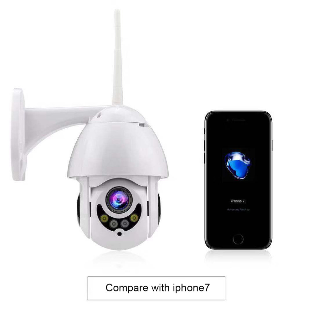 Mini PTZ HD 1080P Wireless WiFi IP Security Camera Waterproof wifi ptz Camera