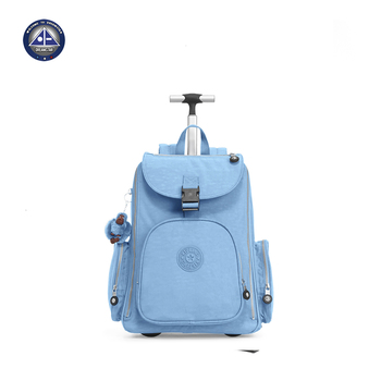 Travel Backpack On Wheels Laptop Bag With For Student Trolley Bags