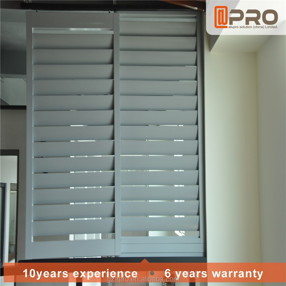 Window mirror shutters glass louvers window for doors new products