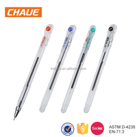New products custom design colorful plastic ballpoint pen