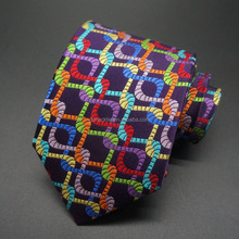 multi color form tie silk men