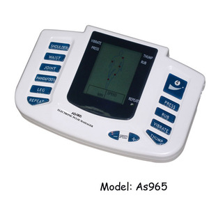 Best selling Electric massager slimming Tens Acupuncture Digital Therapy Machine for Health Care