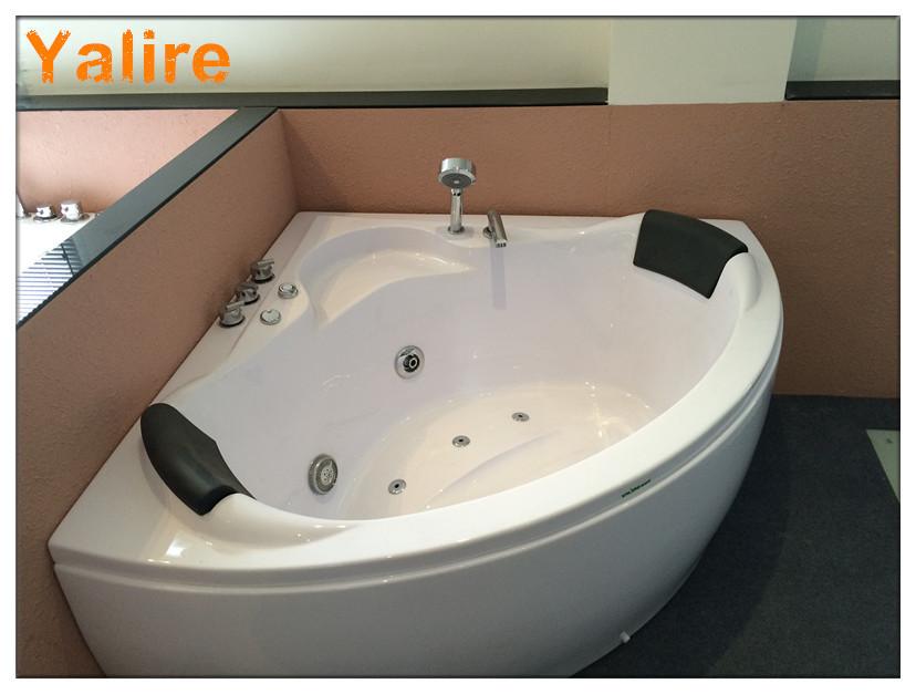 Deluxe חצי עיגול 50 inch אמבטיה-אמבטיות & מערבולות-מספר זיהוי מוצר ...