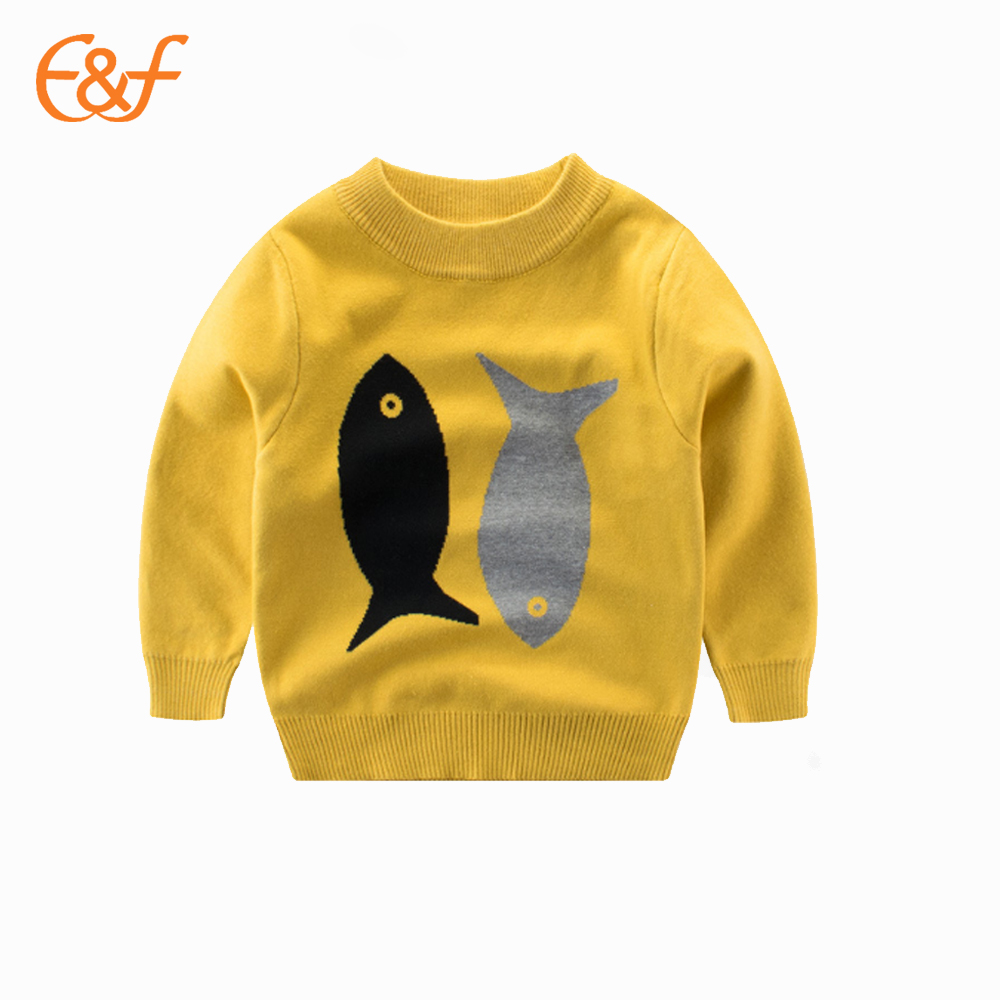 E & F Brand New Design Kinder tragen Winterpullover