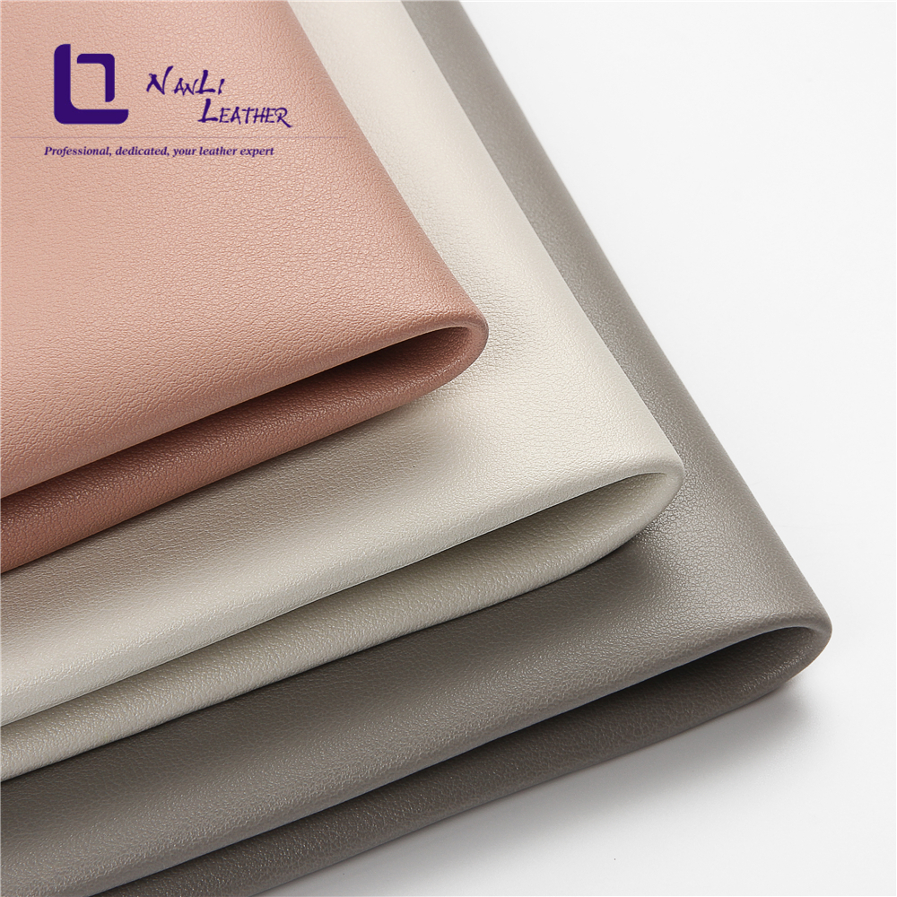 Wholesale thickness 1.8mm Napa material suede undercoat pvc artificial <strong>leather</strong> for bags