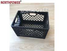 24 Quart Plastic Milk Crate