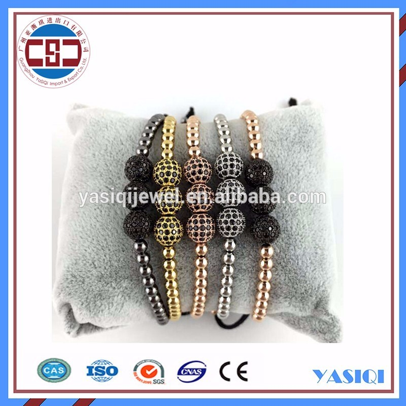 Fashion DIY Jewelry Beads Black Tourmalated Quartz Round Beads With Cheap Price