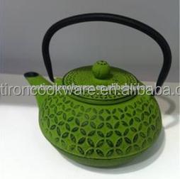 Hot Sale Wholesale Green Enamel Cast Iron Kettle Teapot Buy