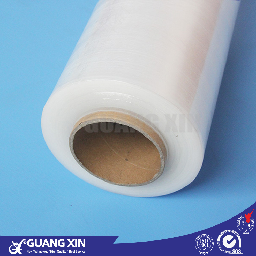 highquality moisture proof transparent casting hand plastic LLDPE MDPE stretch shrink cling film