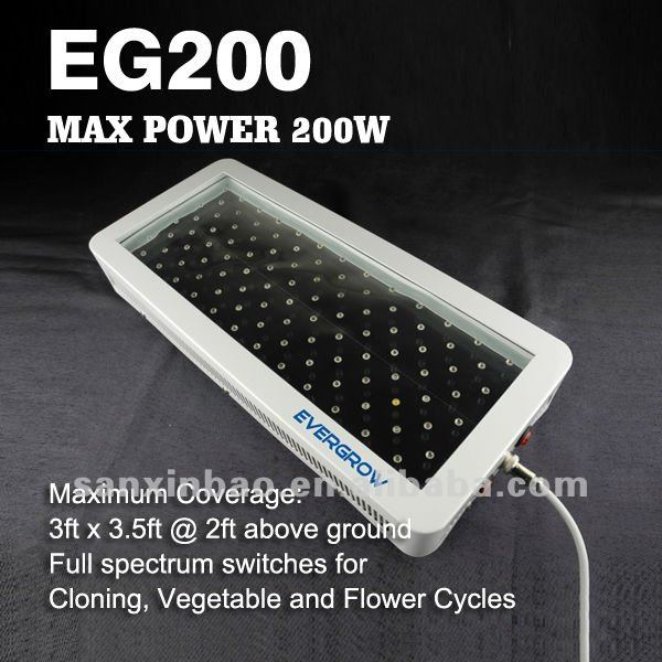 EG200 led grow light special for big greenhouse project