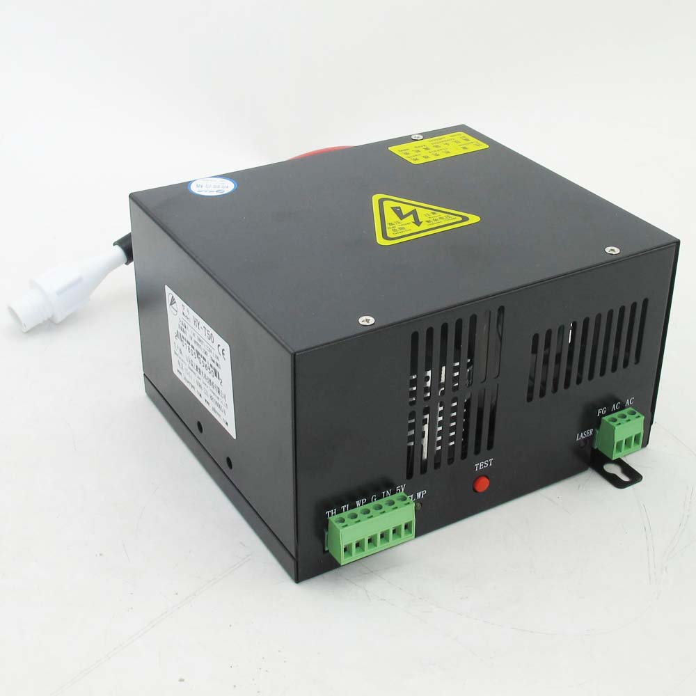 50w Co2 Gas Laser Glass Tube Power Supply HY-T50 Direct Manufacturer