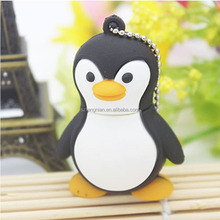 High speed genuine cartoon penguin Gift Real capacity USB Flash Drive U Disk Creativo Pendrive Memory Stick Disk