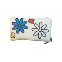 pu flower case mobile phone