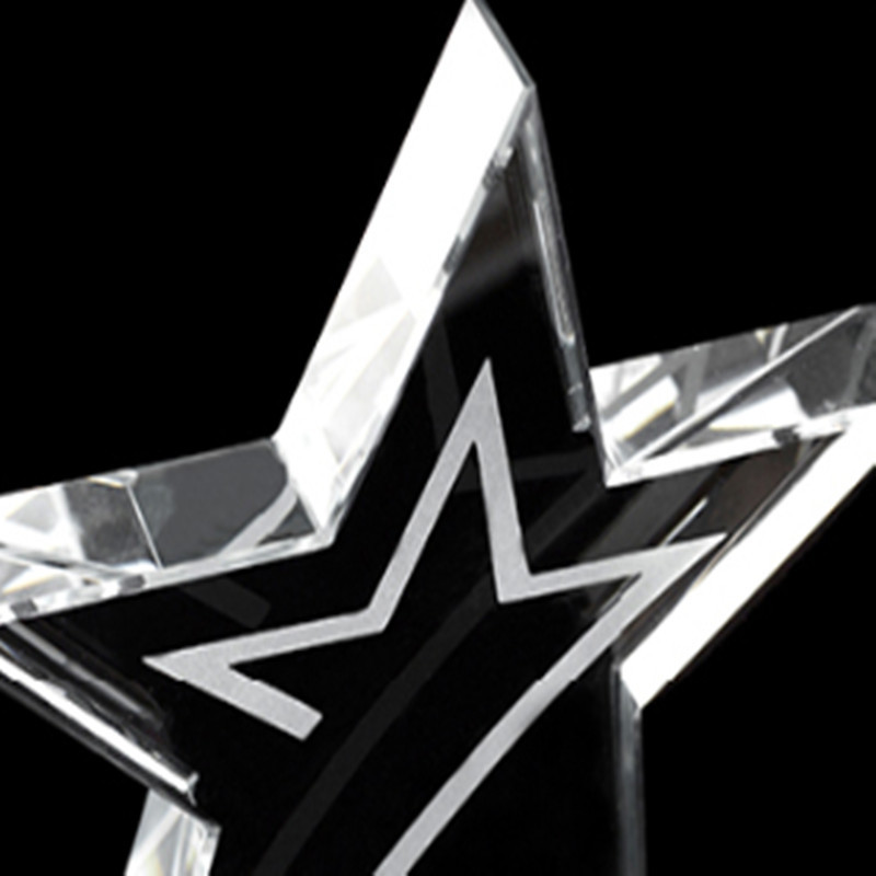 Wholesale star Crystal Trophy and Award with Competitive Price