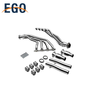 Stainless Steel Racing Exhaust Oxygen Manifold System With Gasket For Pontiac gto