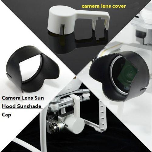 Camera lens cover + Lens Sun Hood Sunshade Cap for DJI Phantom 3 PZT Camera