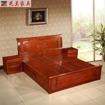 Mahagoni holz möbel  Chinesische Antike Mahagoni Holz Schlafzimmer Möbel Hand ...