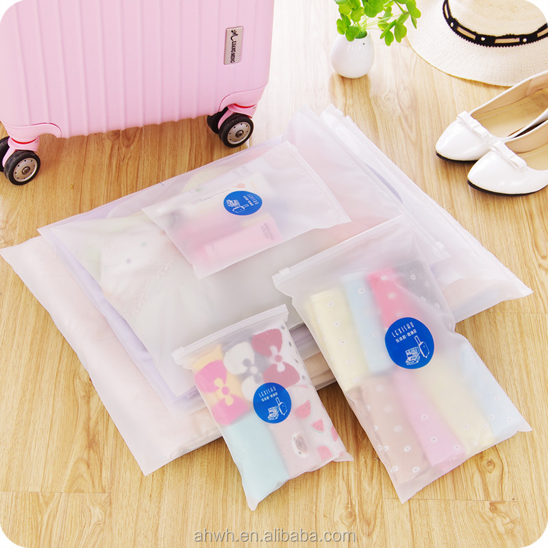 PE LDPE Clear Plastic Zipper Bag Resealable Zip Lock Bag