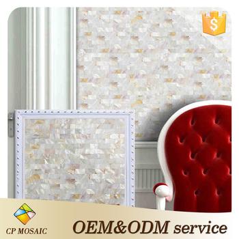 Großhandel Preis Glasmosaik Wand Dekoration Beliebte Handgemachte Weiße  Muschel Mosaik Fliesen Für Malaysia Markt