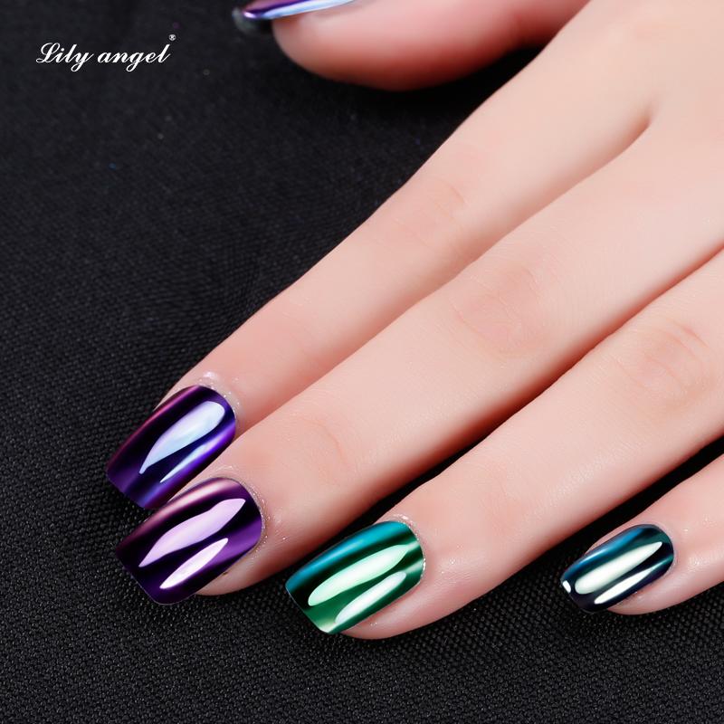 Uv Gel Nail Art Effect Pigment Powder Painting Mirror Nail Glitter ...