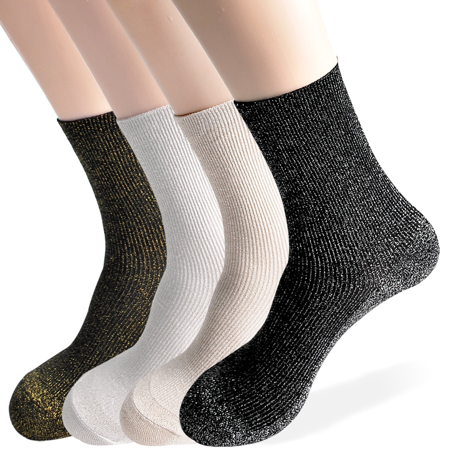 Womens Socks Collection|Metallic Socks|Glitter Socks|Lurex Socks|Sparkle Socks|Retro Socks|Fashion Socks|Socks Gift|Gift Idea