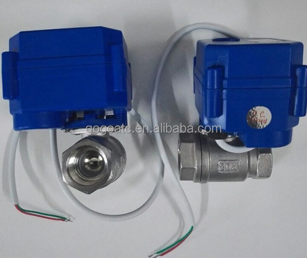 Electric Actuated Ball Valve For Air Condition