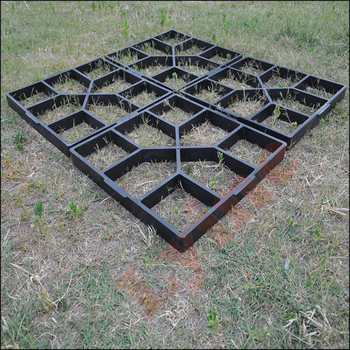 Cheap Price Decorative Stamped Concrete Paving Molds Diy Pavement Stone Mold Supplier