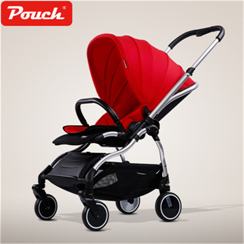 Pouch folding baby carriage Super light baby stroller easy to Carry and Folding Portable Baby pram