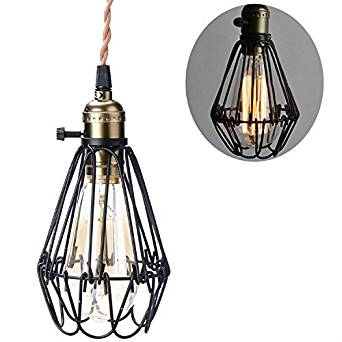 wire cage light fixtures light safety vintage metal cage light shade opening and closing hanging wire lamp fixture buy