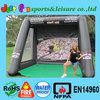 customized soccer inflatable, inflatable goal soccer