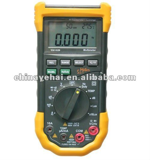 Multifunction Digital Multimeter with CE certificate