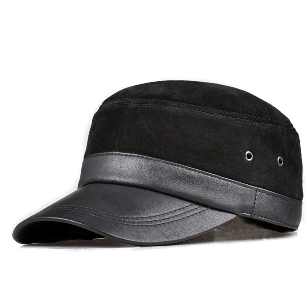 Get Quotations · Leather hat f236725f55eb