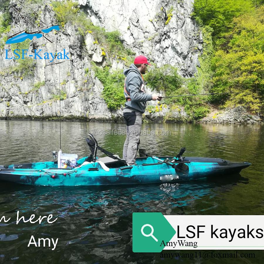 Ocean Kayak Fishing,Angler Fishing Kayak With Foot Pedal Power And Fish  Finder - Buy Ocean Kayak Fishing,Ocean Kayak,Kayak Fishing Product on