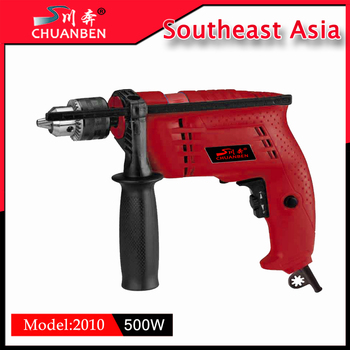 Top Quality Electrical Tool Best 500w 13 Electric Hand Impact Drill Small Hammer