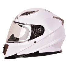 new design best sale shinny white full face motorcycle adult helmet