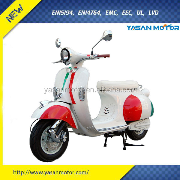 China Manufactured Good Quality 1200wW Cheap Electric Scooter EEC Approved 72V 20Ah SLA E Scooter