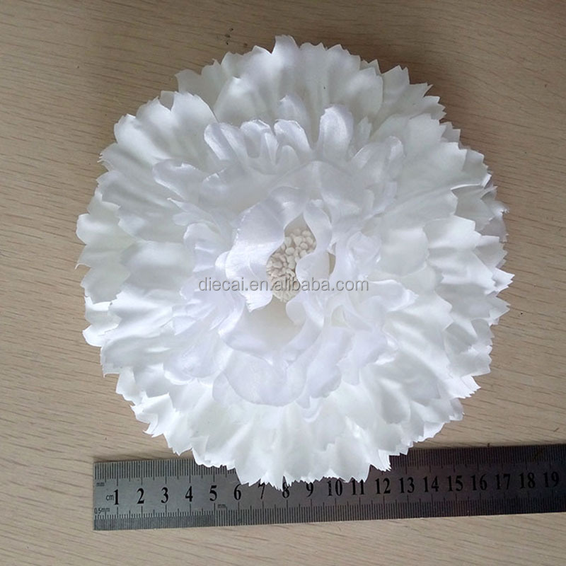 Big white coarse cloth peony <strong>flower</strong> from yiwu market