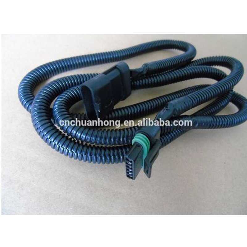 """GM 6.5L Turbo Diesel PMD FSD Black Module 66/"""" Relocation Extension Harness Cable"""