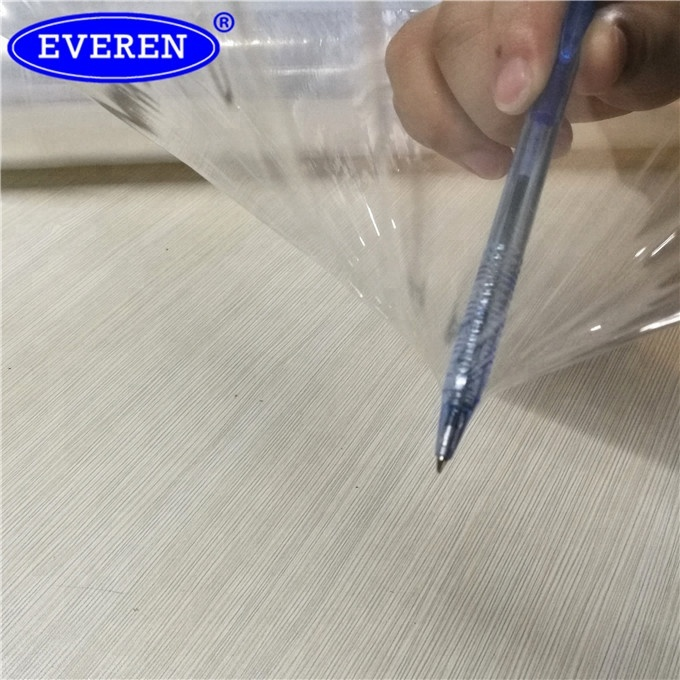 Stretch Wrap Elastic Plastic PE Film in roll with extended core to be used as a handle