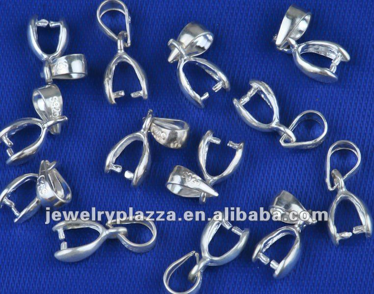 925 sterling silver jewelry accessory jewelry pendant bails