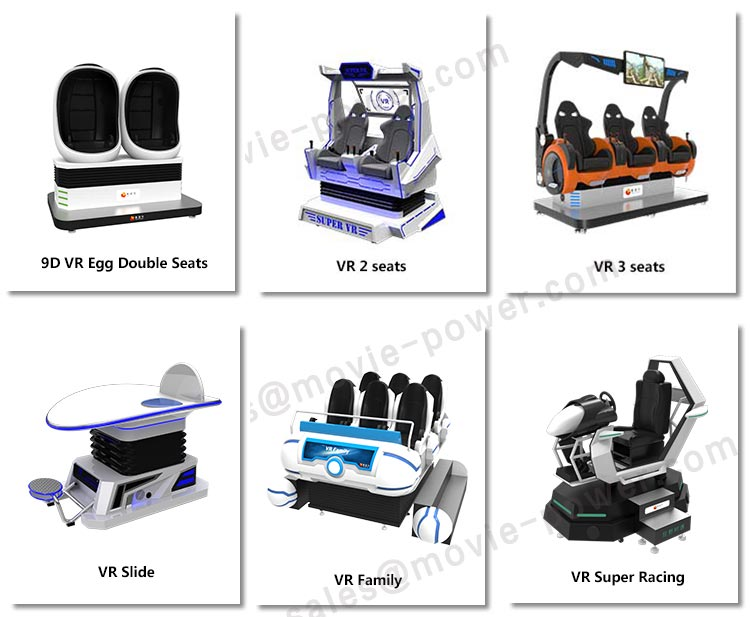 Hot Koop 2019 VR Simulator VR Motional Machine Virtual Reality Games Simulator 9D VR Cinema 6 Zetels voor Park Centre.