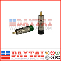 CATV Compession RGA Plug suitable for RG59/RG6 Coaxial Cable