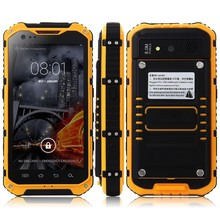 Phone Mobile Cool Rugged Phone Discovery A9 Adopts IP68 Android Phone with USB OTG NFC
