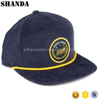 Corduroy Snapback Hat Wholesale Snapback Hats With Rope - Buy Corduroy  Snapback Hat Wholesale,Corduroy Snapback Hat,Hats With Rope Product on