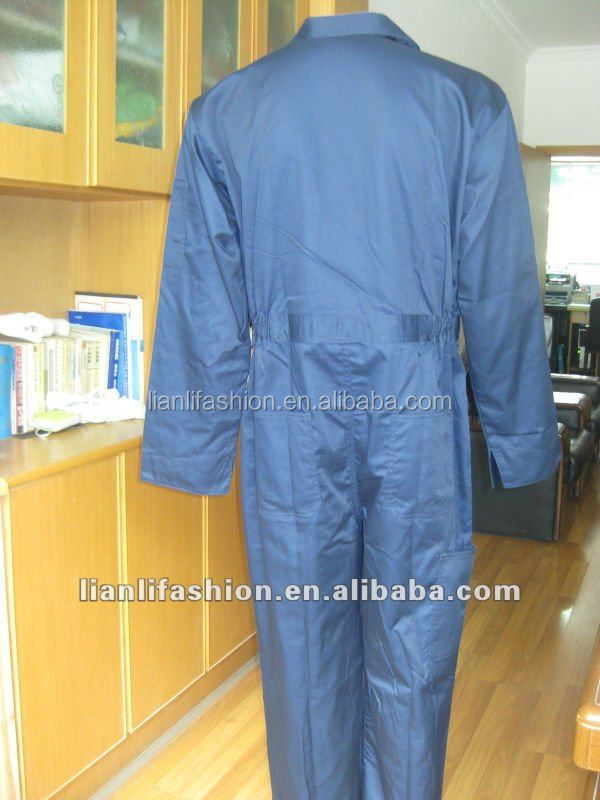 new design high quality long sleeve factory boiler suit for high risk work workwear uniform coverall