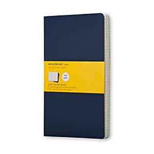 Moleskine Cahier Large Squared Journal [PREPAK-JOURNAL-MOLESKIN-RED-3V] [Paperback]