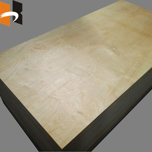 BB Grade Concrete plywood Oiled & Edged Oiled plywood for formwork